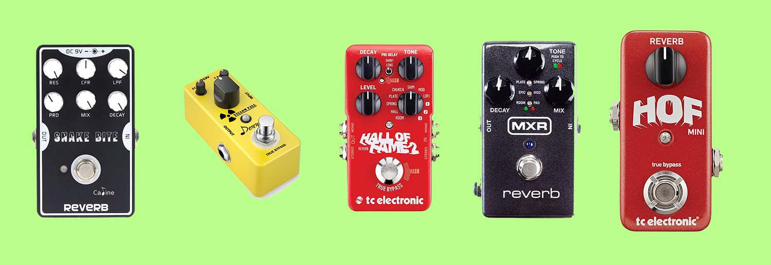 top 5 best reverb pedals in 2019 analog stereo bass guitar effects. Black Bedroom Furniture Sets. Home Design Ideas