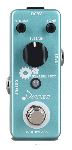 Donner Guitar Stylish Fuzz Pedal