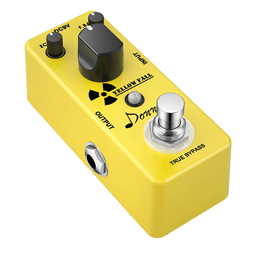 Donner Yellow Fall Vintage Delay Pedal