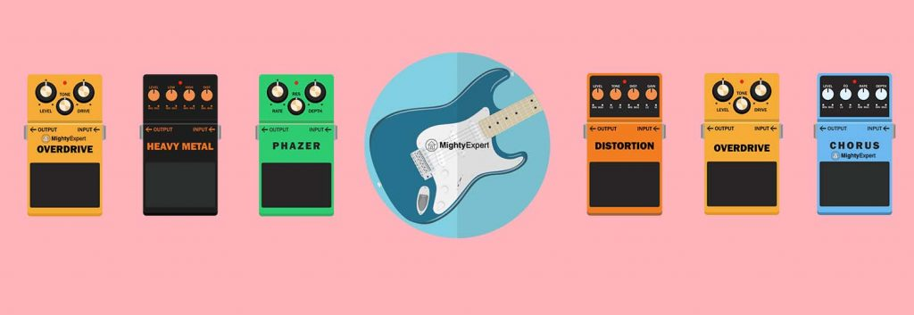 essential guitar pedals for your stompbox the ultimate 2019 guide. Black Bedroom Furniture Sets. Home Design Ideas
