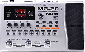 Nux MG-20 Electric Guitar Multi-Effects Looper Pedal
