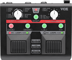 VOX VLL1 Guitar Looper Multi-Effect Pedal