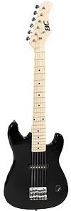 Best Choice Products Kids Black Electric Guitar