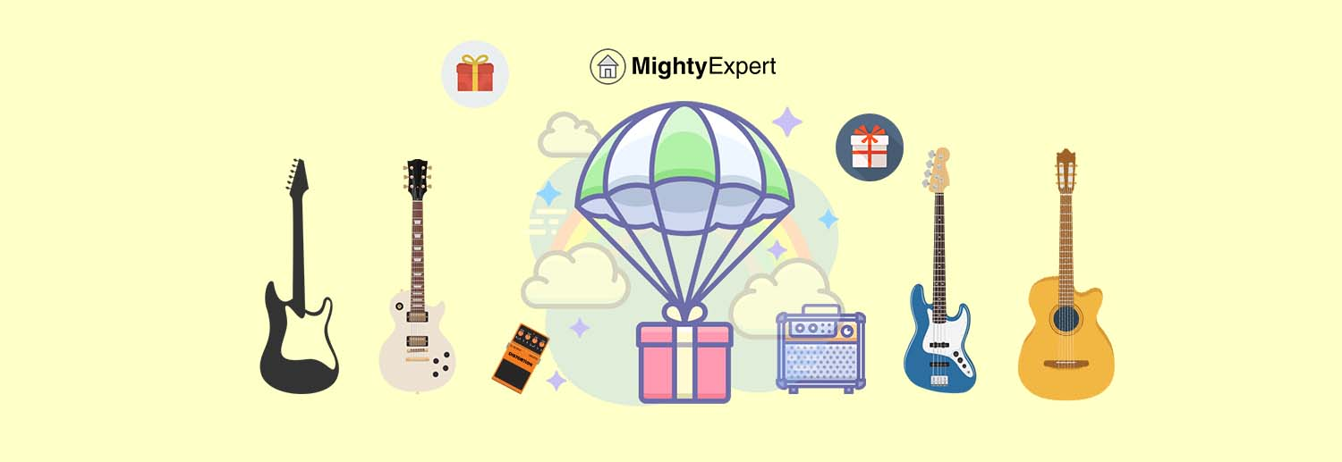 Gifts for Guitar Players - Featured Image MightyExpert