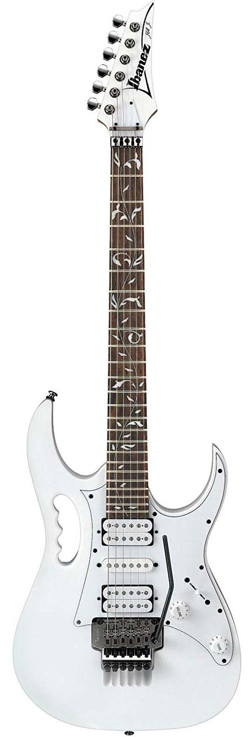 Ibanez JEMJRWH Steve Vai Signature Electric Guitar