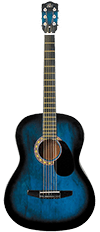 Rogue Starter Acoustic Guitar for Kids