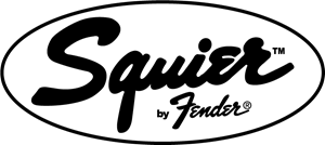 Guitar Brands Squier by Fender Logo