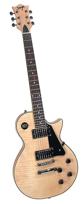Saga LC-10 Deluxe Electric Guitar Kit (Assembled)