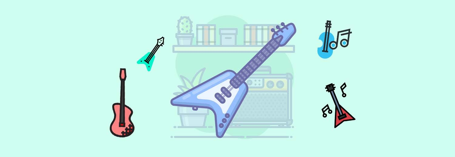 Types of Guitars Featured Image