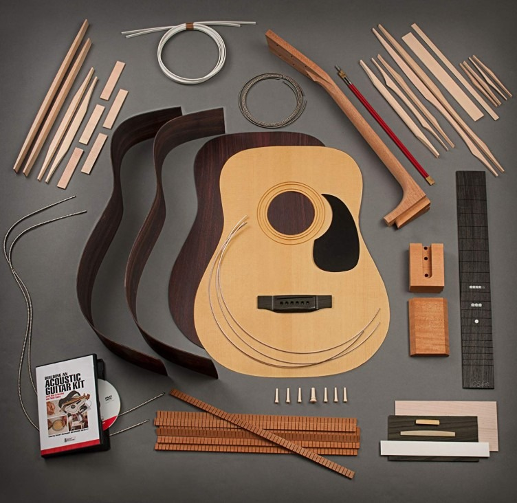 the best diy acoustic guitar kit to build from scratch 2019 edition. Black Bedroom Furniture Sets. Home Design Ideas