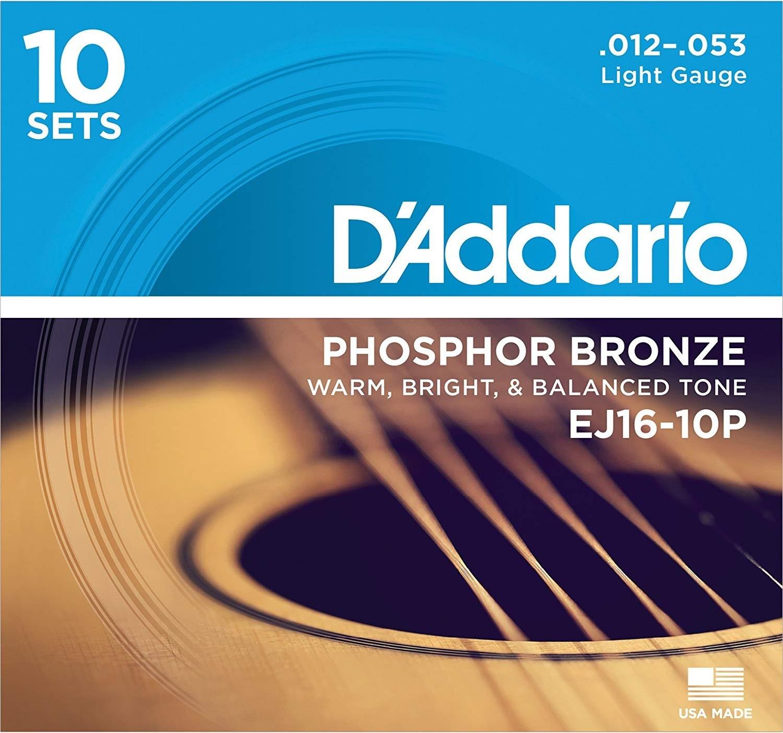 Acoustic Guitar Kit D'Addario Strings