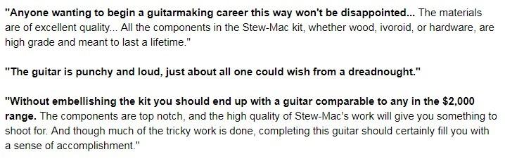 Acoustic Guitar Kit Review