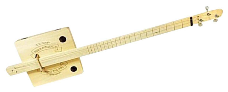 Pure and Simple Cigar Box Guitar Kit
